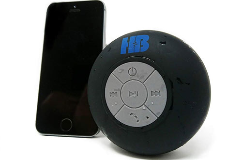 Waterproof Portable Bluetooth Shower Speaker