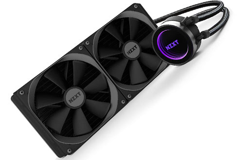 All-in-one Water/Liquid CPU Cooling with Software Controlled RGB Lighting