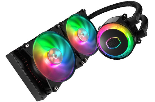 Cooler Master MasterLiquid ML240R Addressable RGB All-in-one CPU Liquid Cooler