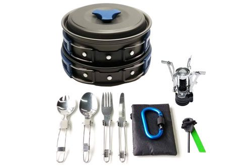 Top 10 Best Camping Cookware Reviews In 2019