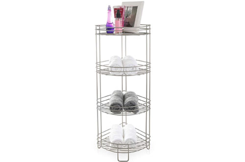 BINO 'Monaco' Rust-Resistant 4-Tier Corner Spa Tower