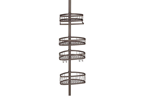 InterDesign York Constant Tension Shower Caddy