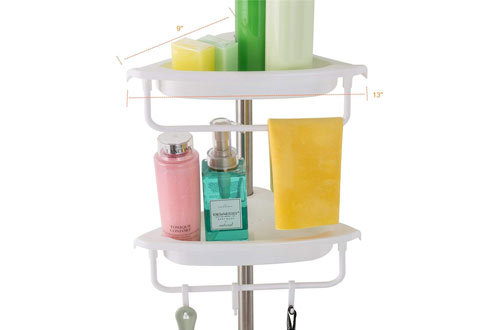 Constant Tension Corner Shower Caddy