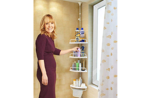 Alice Constant Tension Shower Caddy Pole