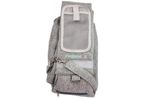 Theglamdog Pet Carrier Shoulder Sling for Small Dogs and Cats