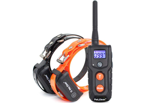 Petrainer PET916 Shock Collar 100% Waterproof Electric Dog Shock Collar