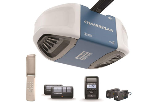Drive Garage Door Opener with Battery Backup