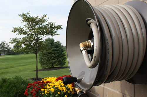 Rapid Reel Wall Mount Garden Hose Reel