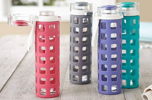 Top 10 Best Glass Water Bottles Reviews In 2019