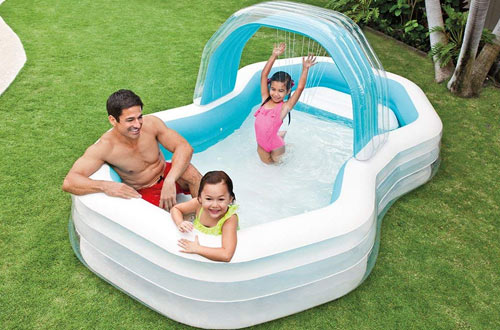 Intex Family Cabana Swim Center Pool