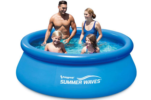 Above Ground Inflatable Pool with Filter Pump