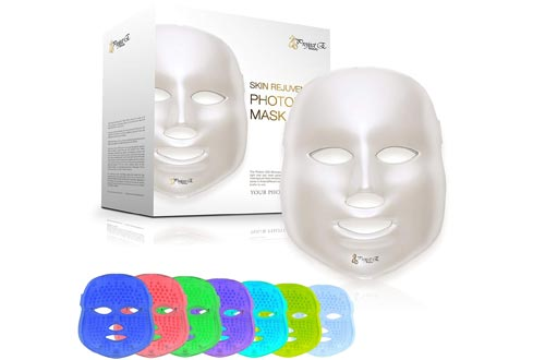 Project E Beauty 7 Color LED Mask Photon Light Skin