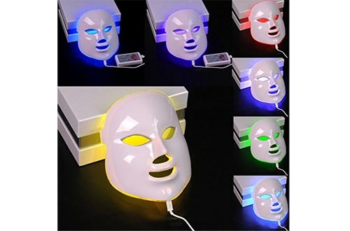 CSBY7 colors facial mask PDT photon LED face masks