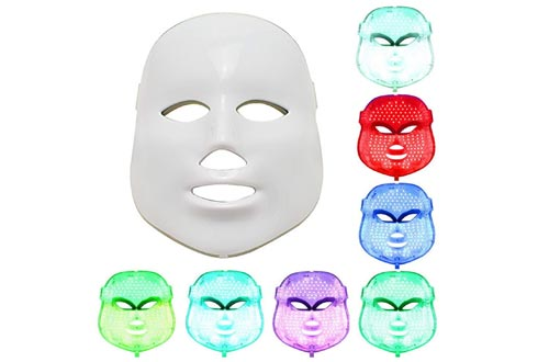 NEWEST LED Photon Therapy 7 Colors ( Red Blue Green )Light Treatment Facial Beauty Skin Care