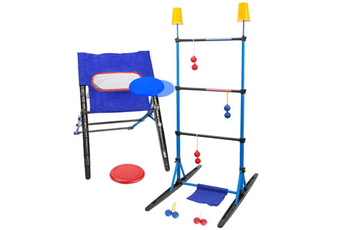 Outdoor Toss Game Set-Ladder Ball Game