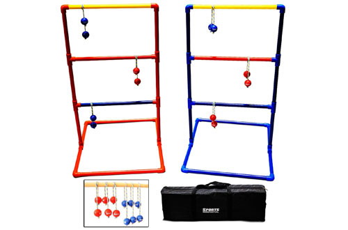SF17018 Sports Festival Premium Ladder Ball Toss Game Set