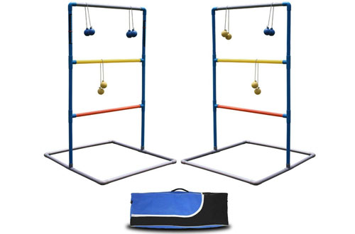 Maggift Ladder Toss Game Set Ladderball Game