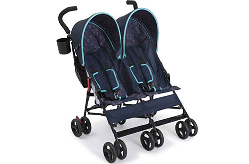 Top 10 Best Lightweight Double Strollers Reviews In 2018