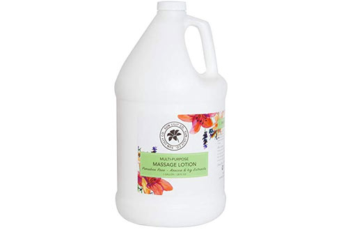 Sun Lilly Organics Massage Lotion 1 Gallon