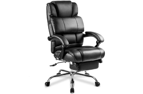 Merax Portland Technical Leather Big & Tall Executive Recliner Napping