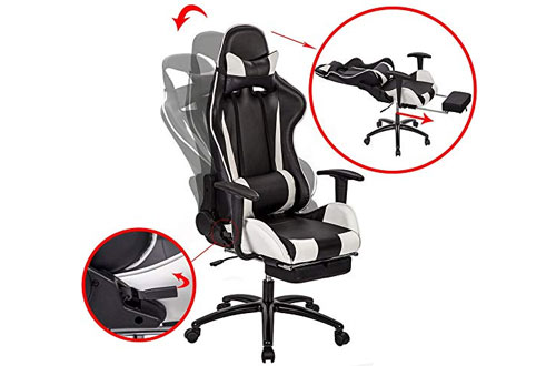 Ergonomic Design Racing Chair