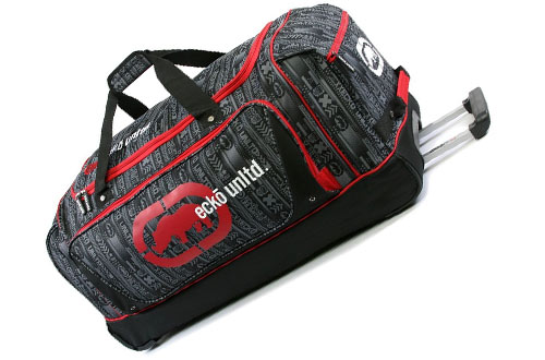 "Ecko Unltd Steam 32"" Large Rolling Duffel Bag"