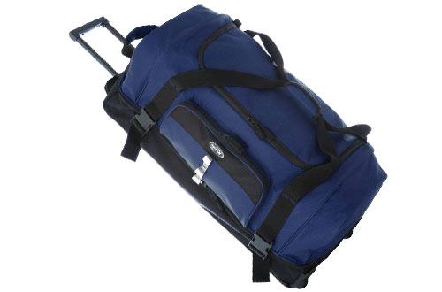 "Olympia 30"" Drop Bottom Rolling Duffel"