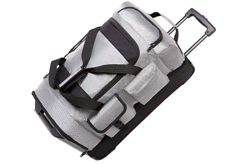 Coolife Rolling Duffel Travel Duffel Bag