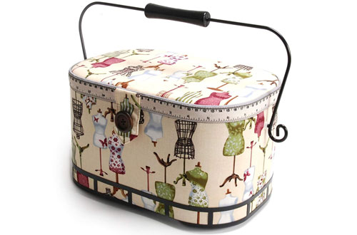 Dritz St. Jane Sewing Basket