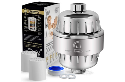 AquaHomeGroup 12 Stage Shower Water Filter