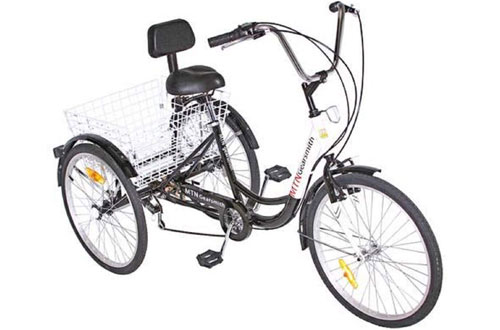 3-Wheel 6-Speed Adult Tricycle