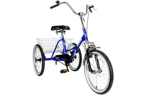 Mantis 67520 Tri-Rad Folding Adult Tricycle