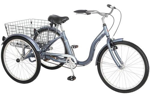 "Schwinn 24"" Wheel Meridian Adult Tricycle"