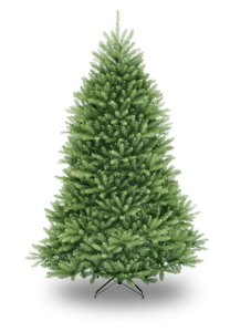 National Tree 7.5 Foot Dunhill Fir Christmas Tree