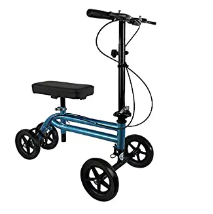 NEW KneeRover Economy Knee Scooter Steerable Knee Walker Crutch Alternative