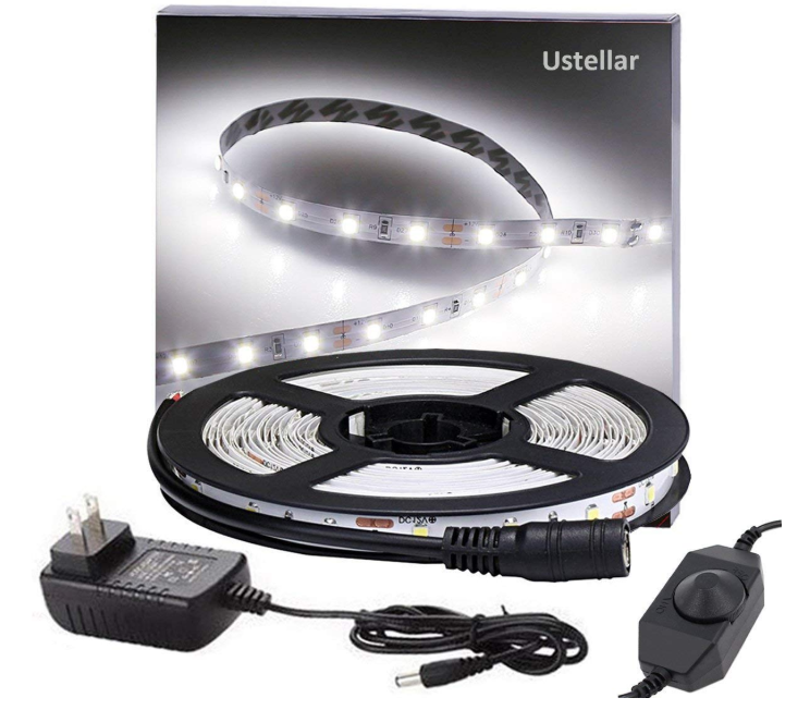 Ustellar Dimmable LED Light Strip Kit