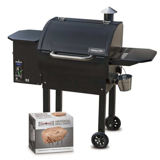 Camp Chef SmokePro DLX PG24 Pellet Grill With Patio Cover