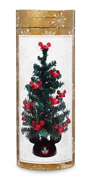 Disney Santa Mickey Mouse Tabletop Tree