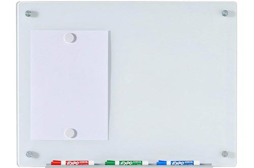 Magnetic Glass Dry-Erase Board Set