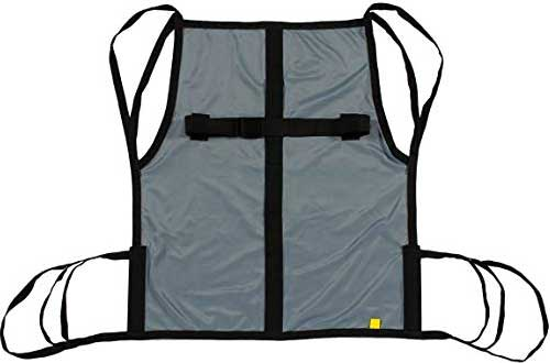 One Piece Patient Lift Sling with Positioning Strap