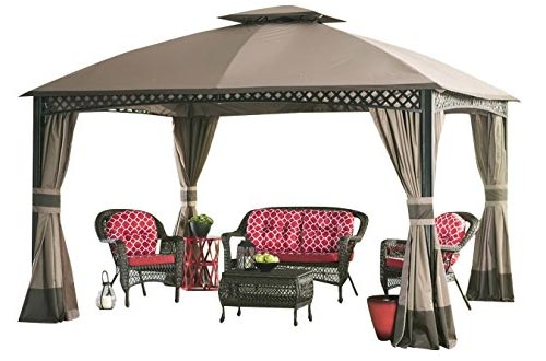 Sunjoy Replacement Canopy Set for 10x12 ft Windsor Gazebo