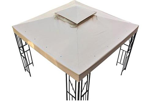 GH 10' X 10' Gazebo Replacement Canopies Top Cover