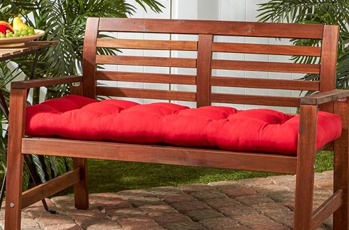 Greendale Home Fashions 46'' Outdoor Sunbrella Swing/Bench Cushion