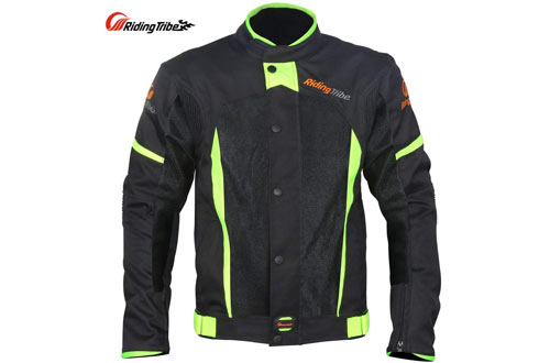 Motorcycle Protective Jacket, Breathable Mesh Design