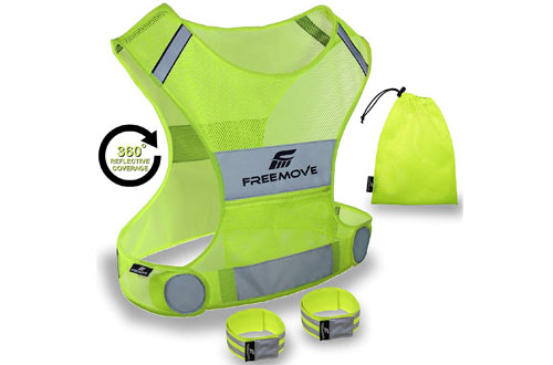 Top 10 Best Reflective Running Vests Reviews In 2018