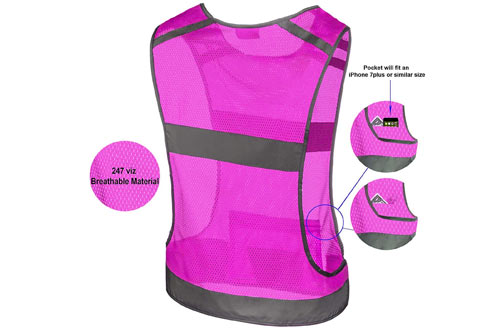 Ultra Light & Comfortable Motorcycle Reflective Vest