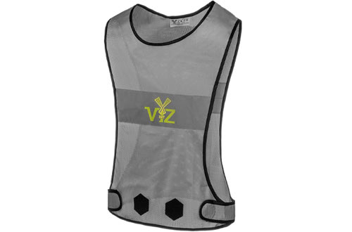 Reflective Vest 360 - Be Seen from All Angles While Running, Walking Jogging, Cycling, Horseback Ridding