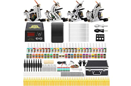 Solong Tattoo Complete Starter Beginner Tattoo Kit