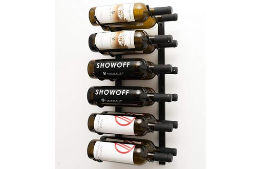 VintageView WS22 2-Foot 12 Bottle Wall Mounted Wine Rack