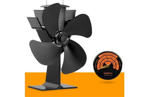 No Electricity Required Heat Powered Stove Fan Eco Fan for Wood Stoves